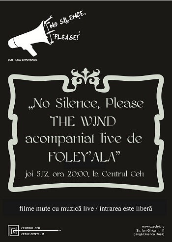 poster no silence please the wind-web