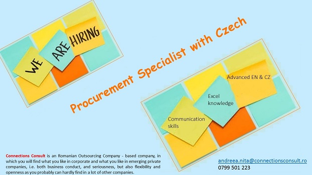 Procurement Specialist with English and Czech